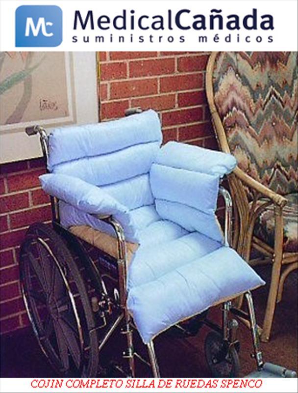 Cojin completo silla de ruedas spenco beige medical ca ada - Cojin silla de ruedas ...