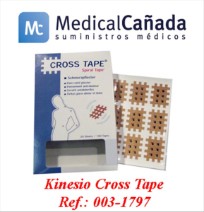 Kinesio cross tape c/180