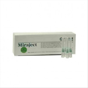 Agujas miraject-p 0,8 mm x 25 mm c/100