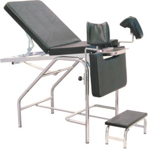 Portable Medical Exam Table With Stirrups Universal Exam
