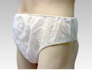 Calzoncillo desechable Unisex TST de Color Blanco
