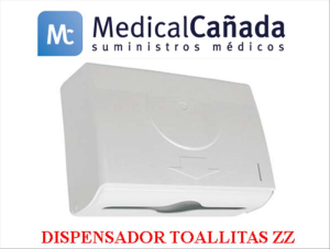 Dispensador toallitas zz plast. bl abs