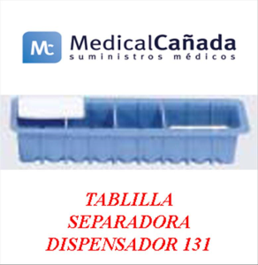 Tablilla separadora dispensador 131
