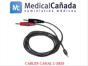 Cables canal 2 gris intelec advanced