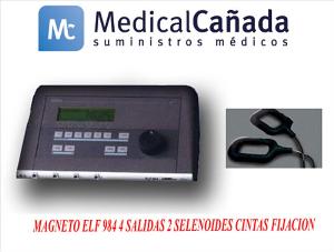 Magneto elf 984 4 salidas 2 selenoides cintas fijacion
