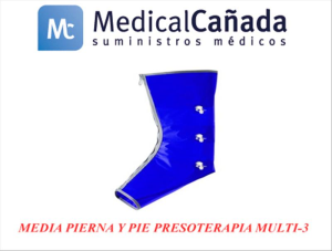 Media pierna y pie presoterapia multi-3