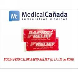 Bolsa frio/calor rapid relief (1) 15 x 26 cm rojo