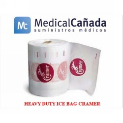 Heavy duty ice bag cramer 1500 bolsas/rollo