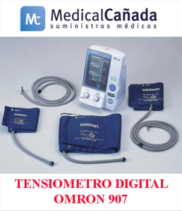 Tensiometro digital omron 907