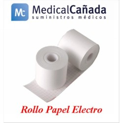 Rollo papel electro 90 mm x 35 m (int.16 mm) udad