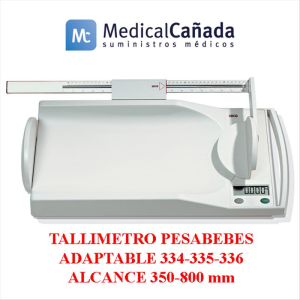 Tallimetro p/bebes adaptable 334-335-336 alcance 350-800 mm