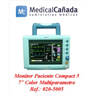 Mnitor paciente compact-5 7