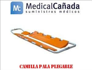 Camilla pala pleg. pc335 c/correas