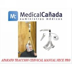 Aparato traccion cervical manual neck pro