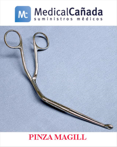 Pinza magill p/introducir cateteres adulto lanbeck
