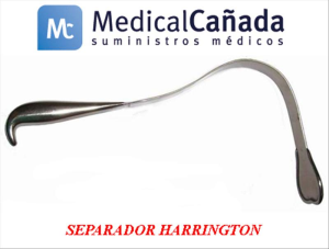 Separador harrington 127 x 62 mm 32 cm
