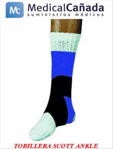 Tobillera scott ankle support double strap t/l