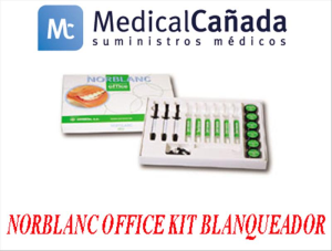 Norblanc office kit blanqueador