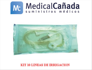 Kit 10 lineas de irrigacion p/ultrasonidos acteon, satelec